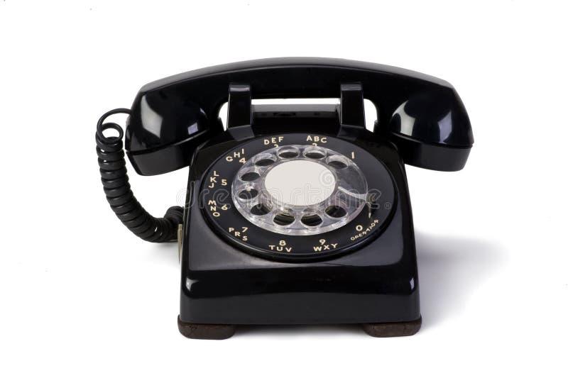 转台式电话 库存图片