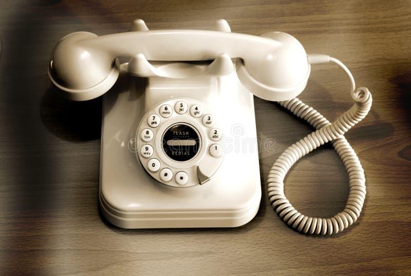 转台式的电话 免版税库存图片