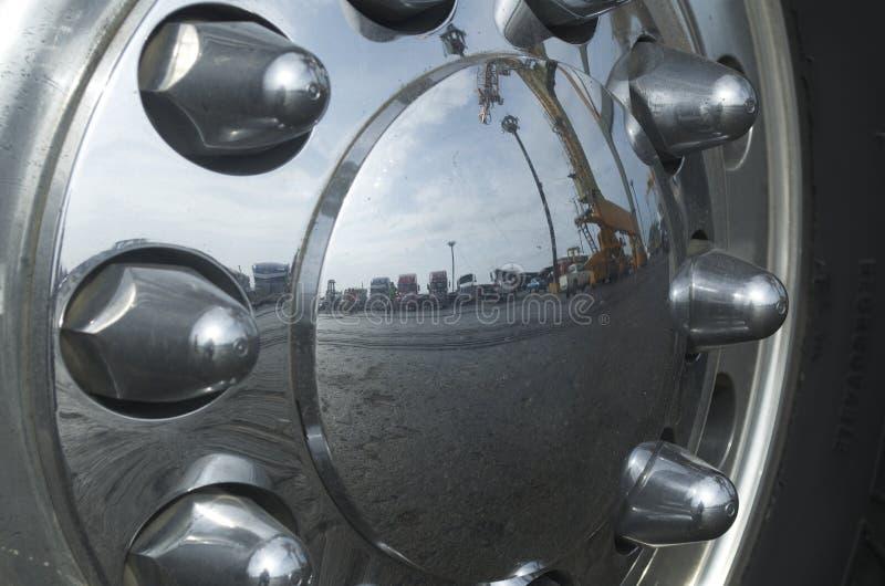 轮子卡车 免版税图库摄影