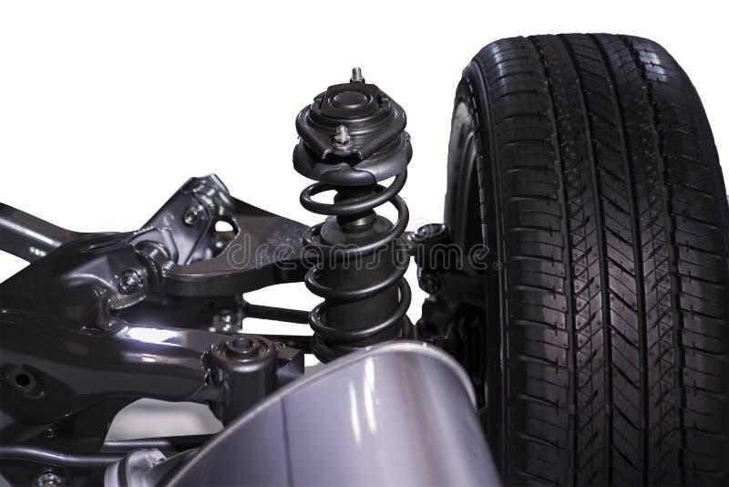 轮子和缓冲器 免版税图库摄影