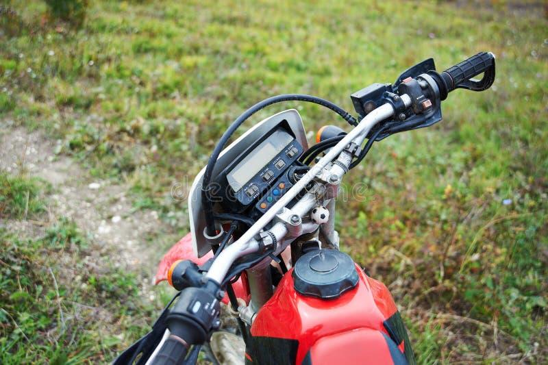 轮子摩托车越野赛自行车 免版税图库摄影