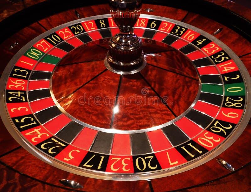 轮子的接近的轮盘赌 免版税库存图片