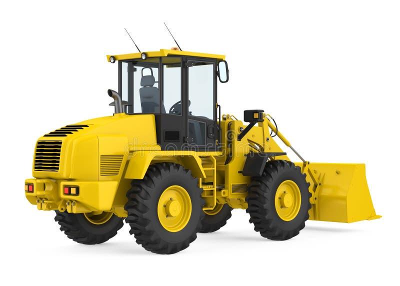 轮子装载者推土机隔绝了 向量例证