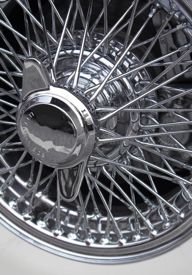 轮幅轮子 免版税库存照片