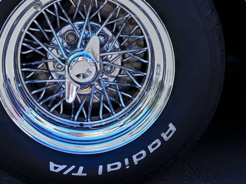 轮幅轮子 免版税库存图片