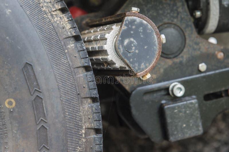 轮式制动器 库存照片