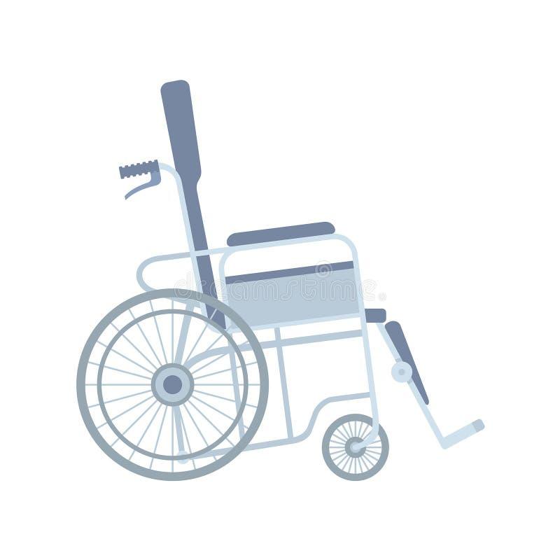 轮椅传染媒介例证 向量例证