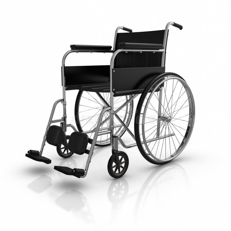 轮椅 库存例证