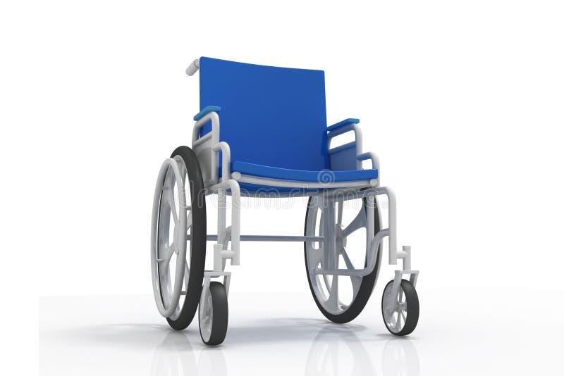 轮椅 皇族释放例证