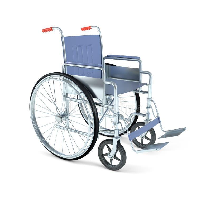 轮椅 向量例证