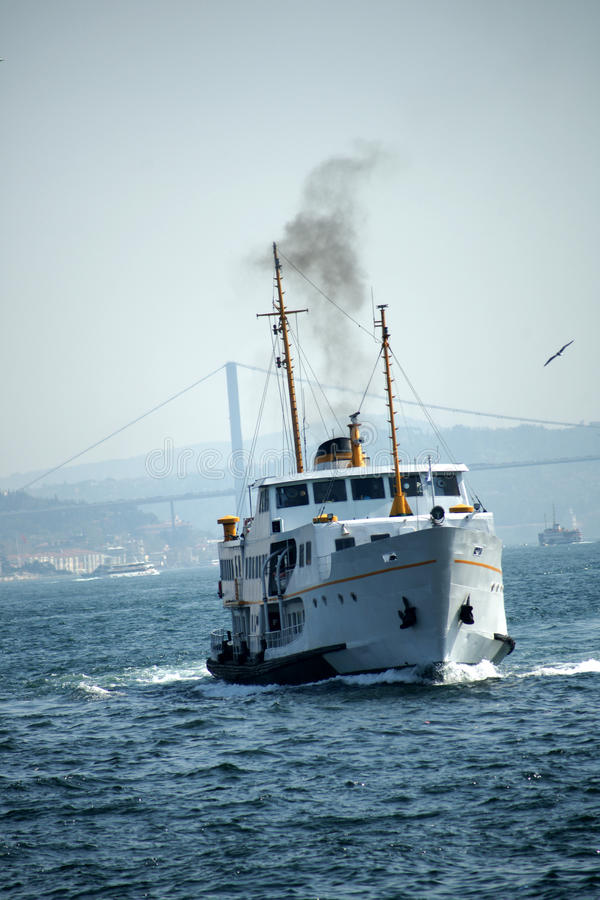 轮渡伊斯坦布尔 免版税库存照片