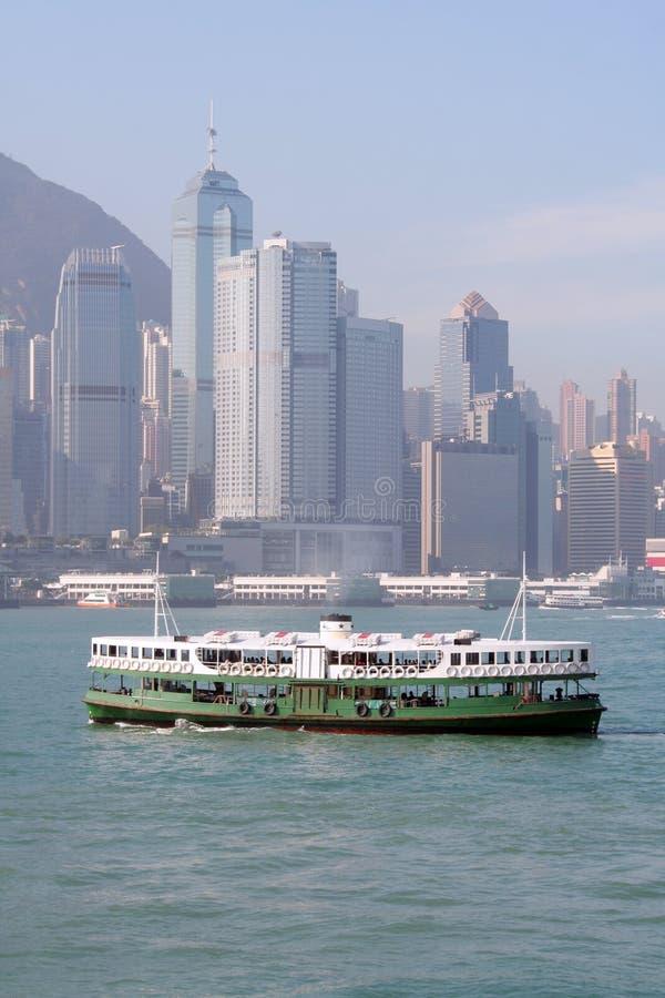 轮渡香港 库存照片