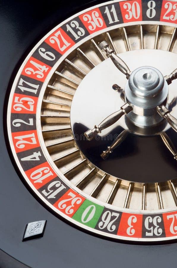轮盘赌的赌轮 库存图片