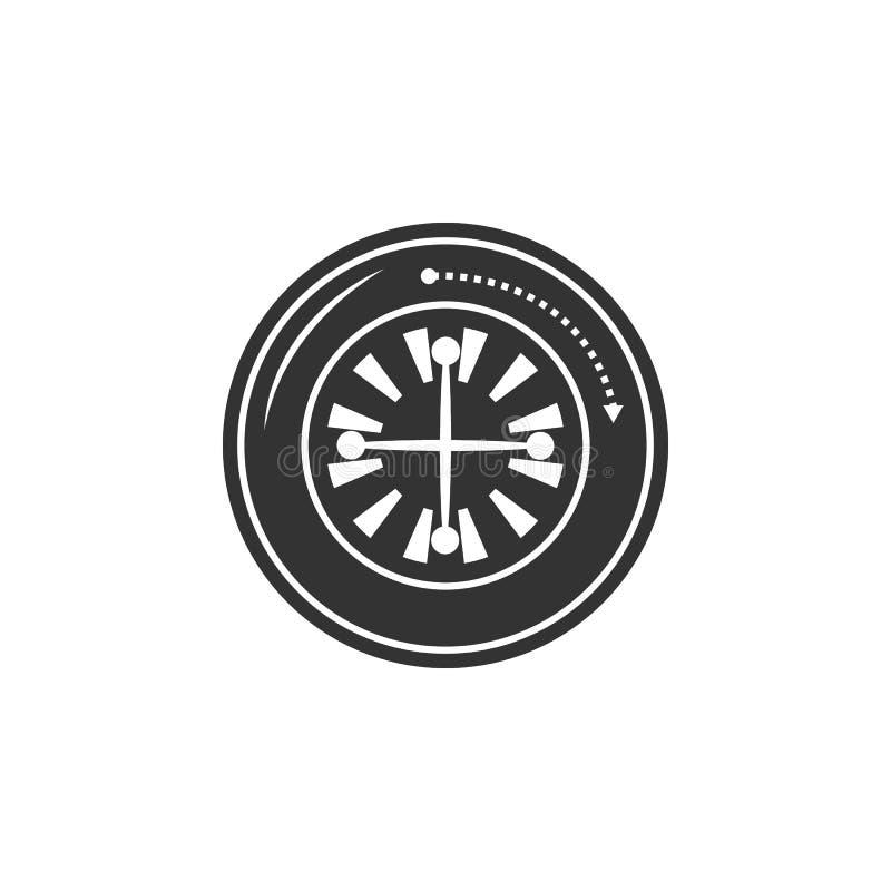 轮盘赌象 机场象的元素流动概念和网应用程序的 详述的轮盘赌象可以为网和机动性使用 皇族释放例证