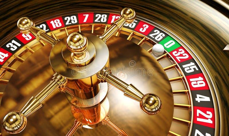轮盘赌 向量例证