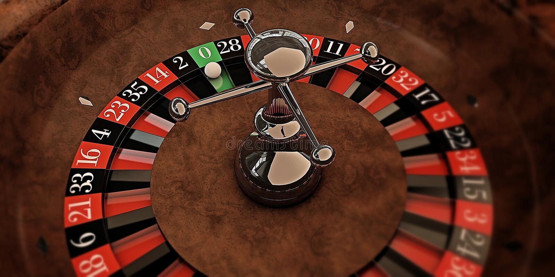 轮盘赌 库存例证