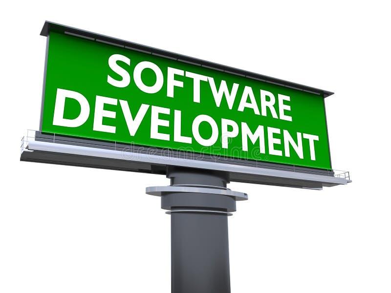 软件开发 皇族释放例证