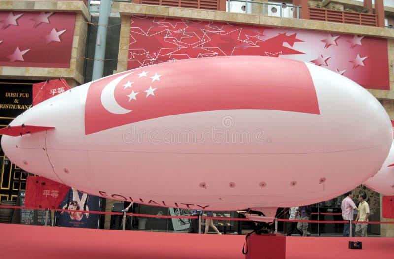 软式小型飞艇平等 库存照片