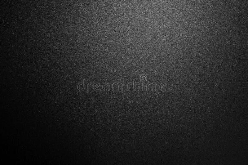 软的图象摘要黑暗,黑有轻的背景 黑色夜光高雅、光滑的背景或者艺术品设计空间fo 库存图片