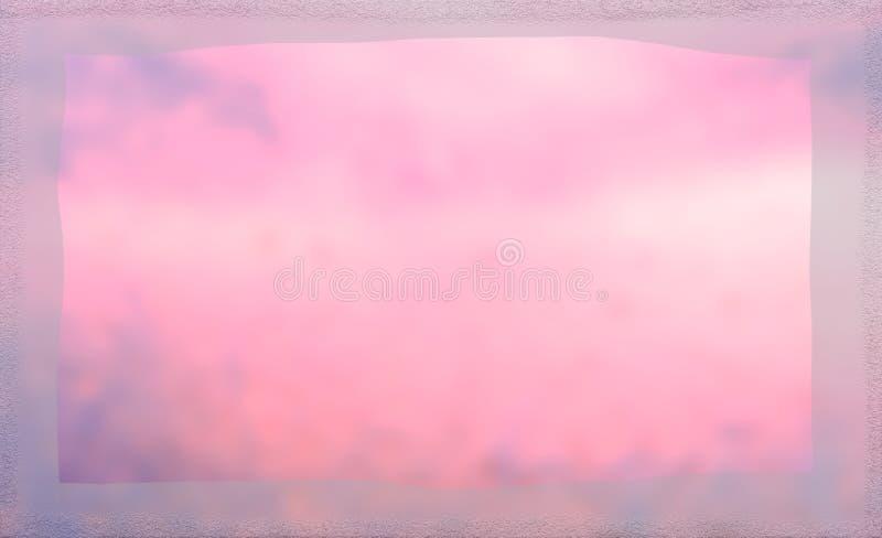 软的抽象桃红色背景 皇族释放例证