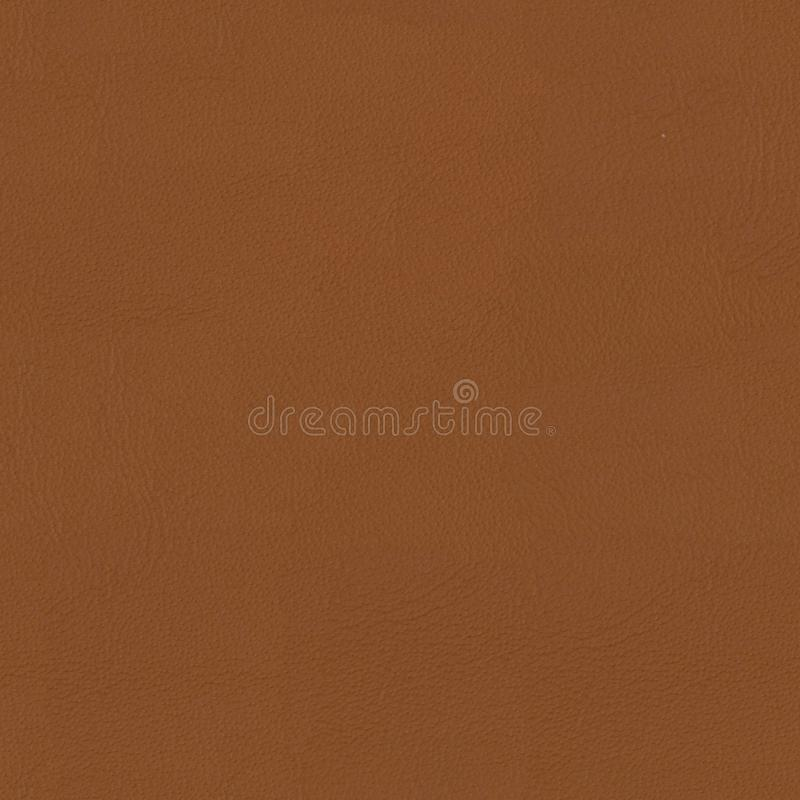 软的棕色皮革特写镜头背景 无缝的方形的纹理, 免版税库存照片