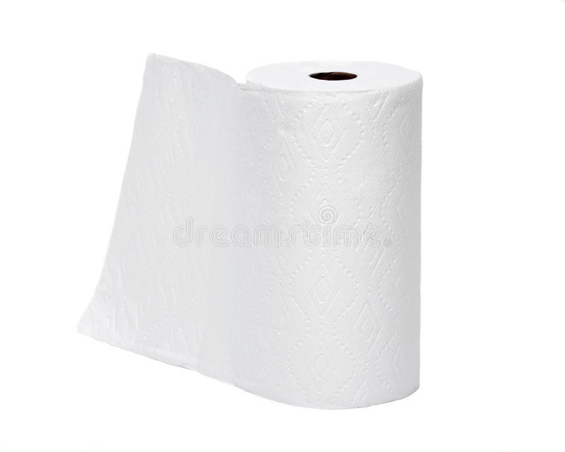 软的毛巾纸 图库摄影