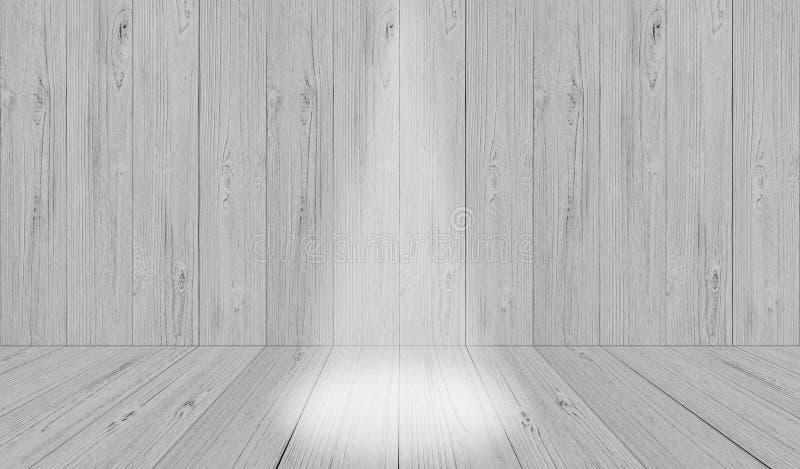 软的灰色演播室室背景,与spotl的灰色地板背景 库存例证