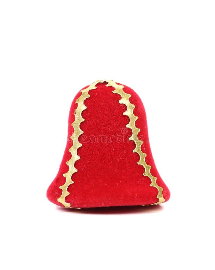 软的红色门铃。 库存图片