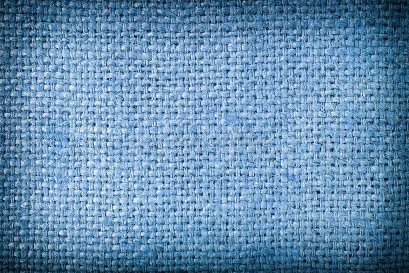 软的蓝色大袋纹理背景和阴影 蓝色大袋纹理背景 蓝色大袋背景 库存照片
