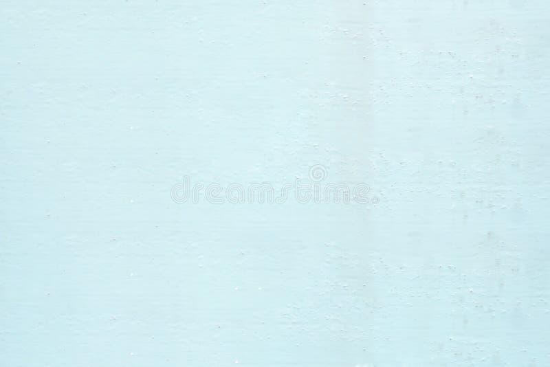软的颜色蓝色墙壁油漆纹理背景 库存图片