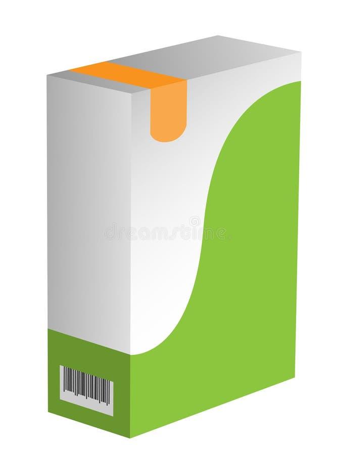 软空白的配件箱 皇族释放例证