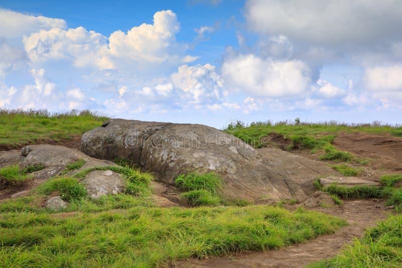 软羊皮的山高地北卡罗来纳和田纳西 库存照片