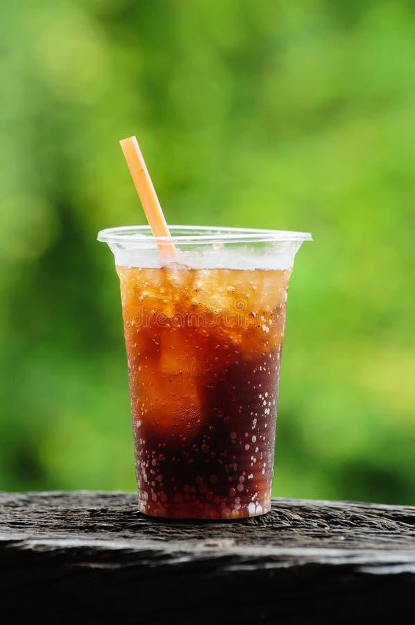 软饮料的玻璃 免版税库存图片