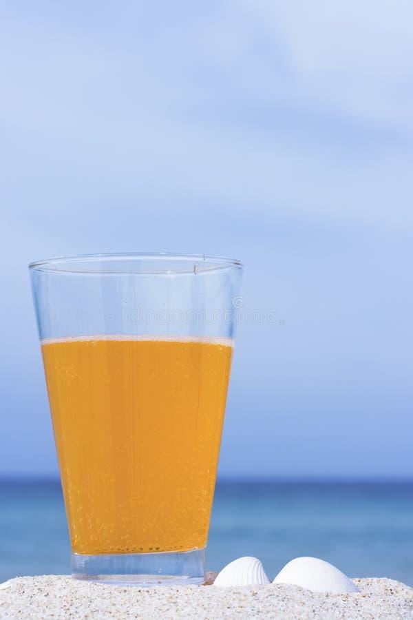 软饮料的玻璃 图库摄影