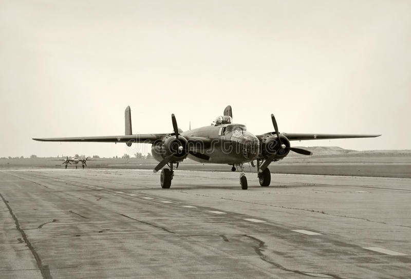 轰炸机时代ii战争世界 免版税库存图片