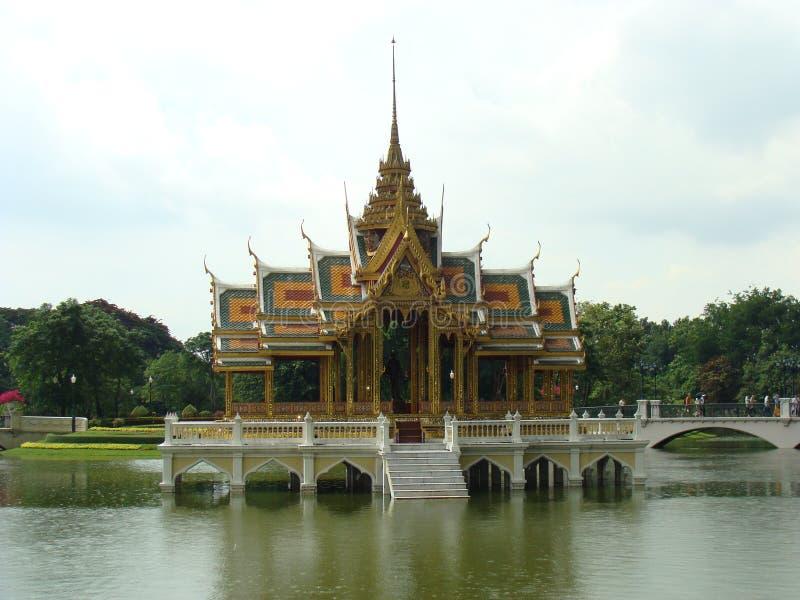 轰隆痛苦王宫,泰国 免版税库存照片