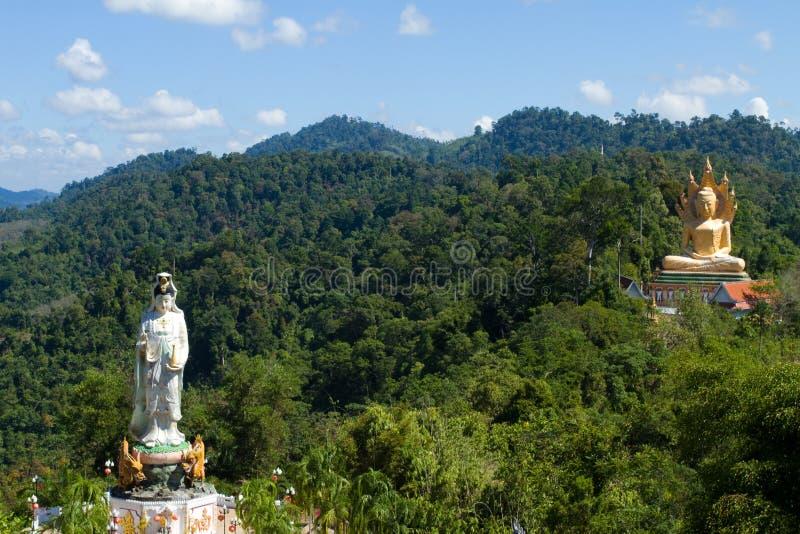 轰隆riang寺庙旅行 库存照片