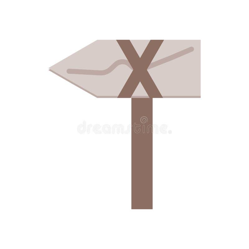 轴在白色背景隔绝的象传染媒介,轴标志,历史石器时期标志 皇族释放例证