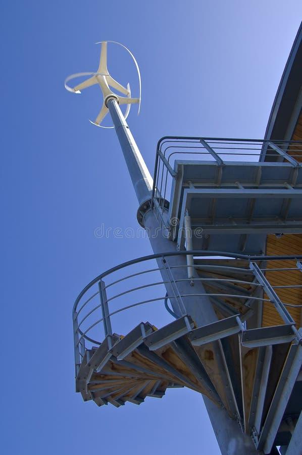 轴涡轮垂直 免版税库存图片