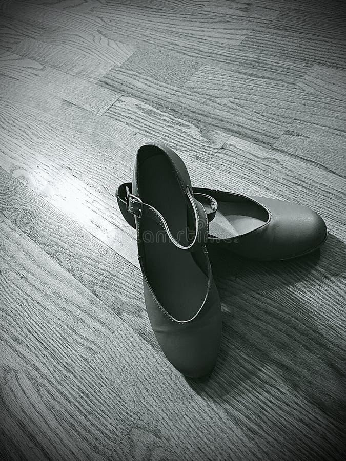 轻拍鞋子 免版税库存照片