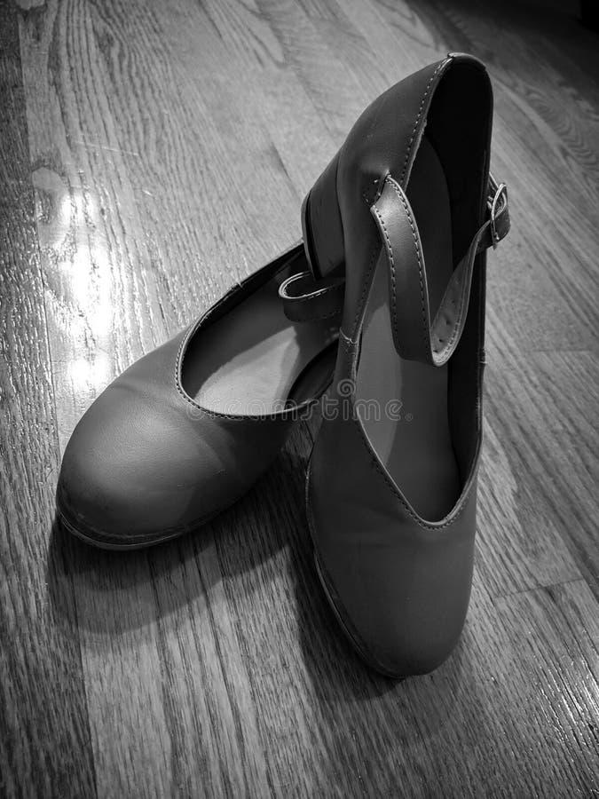 轻拍鞋子 库存照片