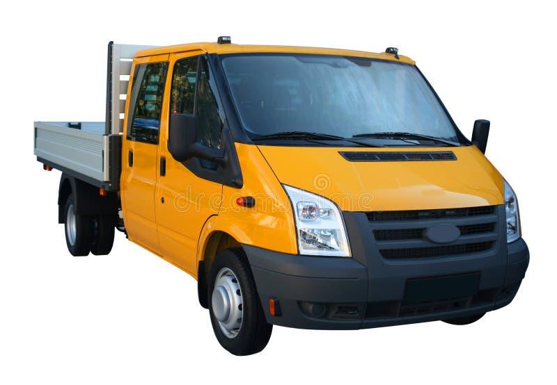 轻的卡车黄色 图库摄影
