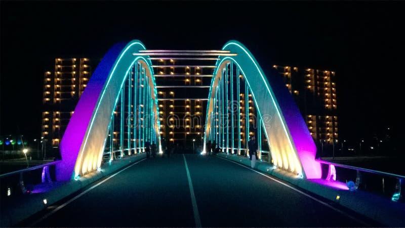 轻的桥梁 免版税库存图片