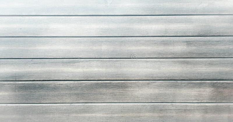 轻的白色作为背景的洗涤软的木纹理表面 难看的东西粉刷了木板条桌样式顶视图 免版税库存照片