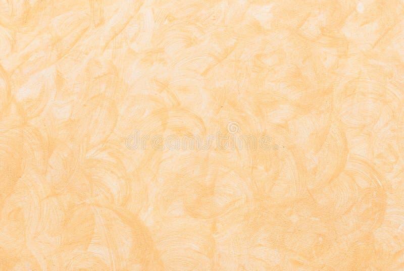 轻的米黄棕色灰泥墙壁样式背景纹理 免版税库存照片