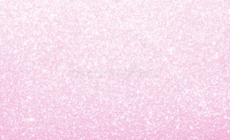 轻的粉红彩笔,闪烁,闪耀和发光抽象背景 免版税库存照片