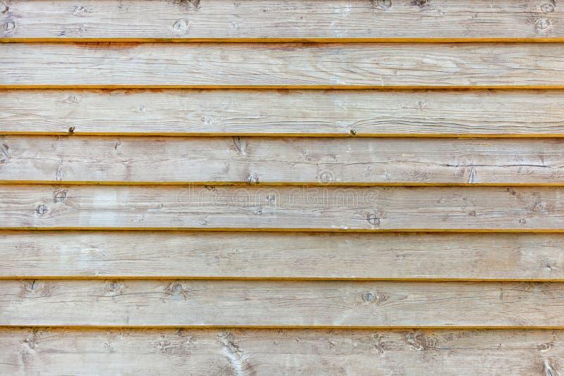 轻的老木板条板纹理背景 免版税库存照片
