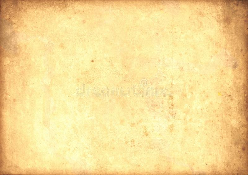 轻的老纸莎草葡萄酒 向量例证