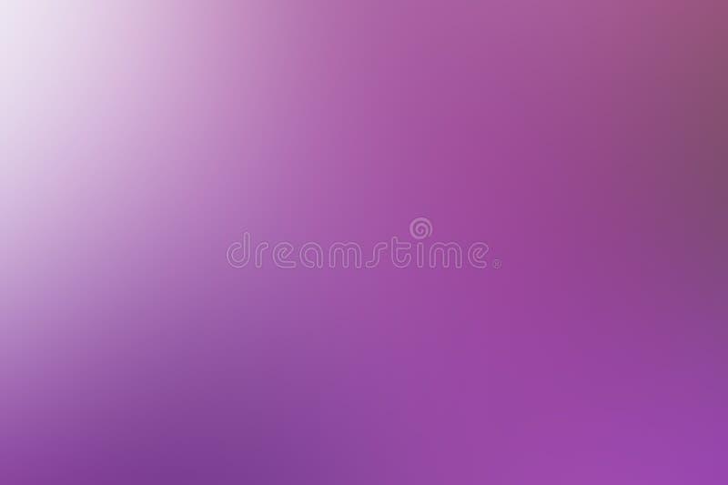 轻的背景白色和紫色梯度被弄脏的和明亮,五颜六色欢乐,生日 免版税库存照片