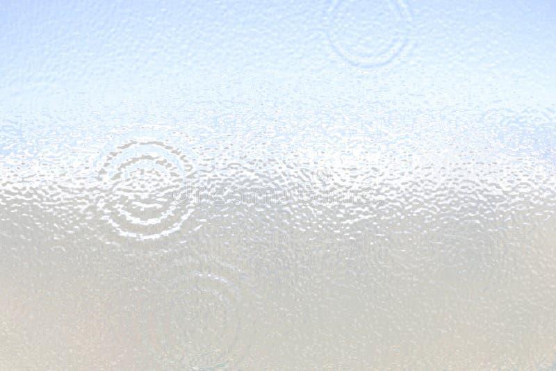 轻的表面无光泽的表面 塑料玻璃 波纹 白色灰色梯度背景 皇族释放例证